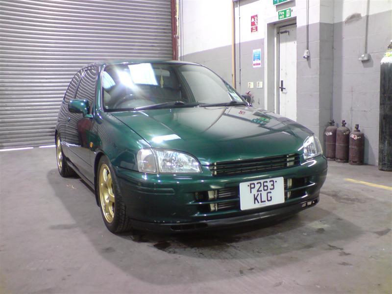 Ep91 Toyota Starlet Sportif (turbo Conversion In Progress